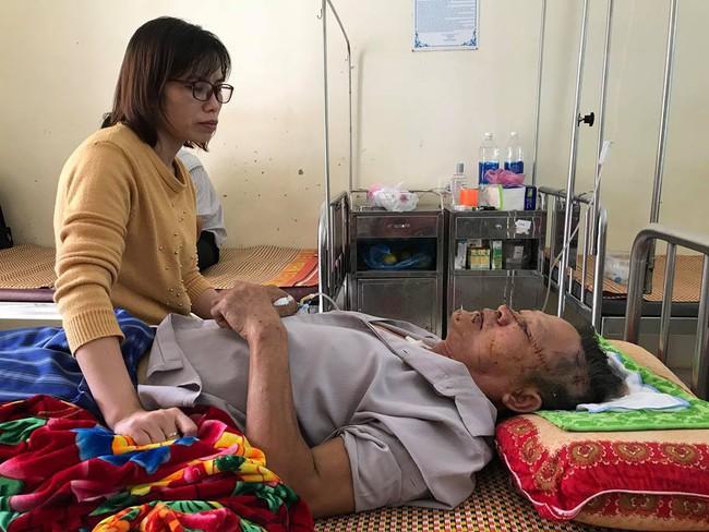 Cụ ông bị thương trong vụ nữ chủ nhà bị sát hại ở Hưng Yên kể lại giây phút sinh tử - Ảnh 2.