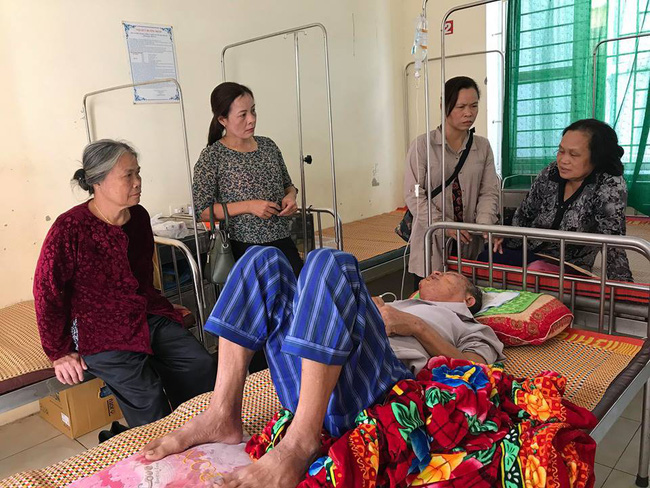 Cụ ông bị thương trong vụ nữ chủ nhà bị sát hại ở Hưng Yên kể lại giây phút sinh tử - Ảnh 1.