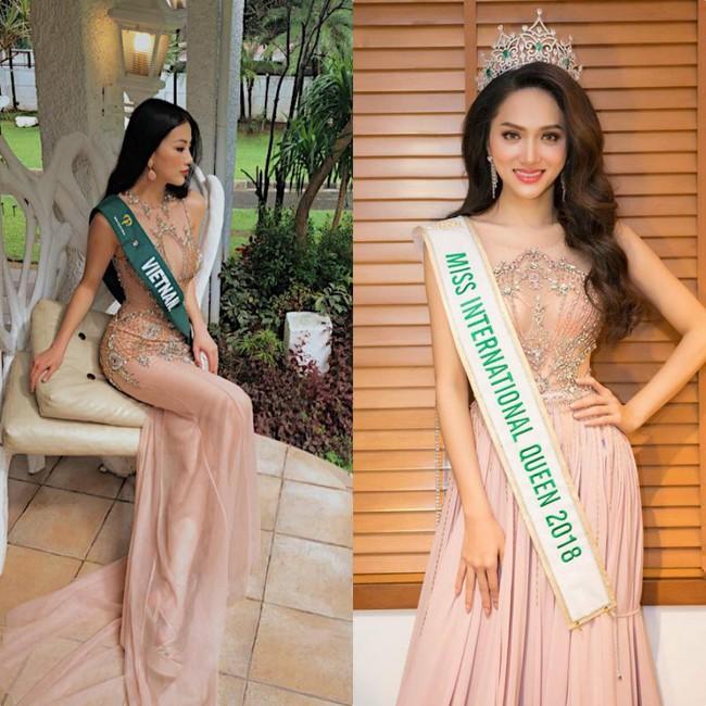 Đăng quang Hoa hậu tại 2 cuộc thi nhan sắc Quốc tế, style Phương Khánh và Hương Giang có khá nhiều điểm chung thú vị - Ảnh 6.