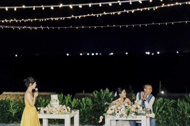 Bí mật của chiếc váy cưới và khoảnh khắc first look hạnh phúc ở đám cưới chất phát ngất do cô dâu tự tay trồng - Ảnh 16.