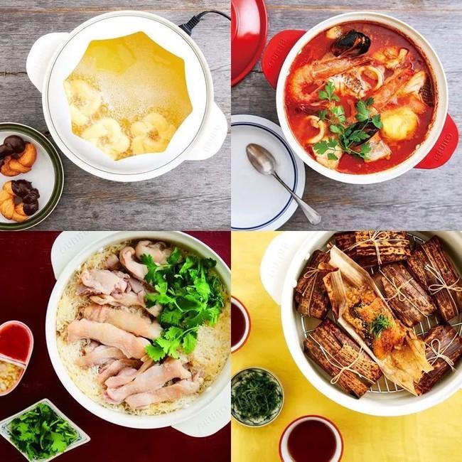 Nồi nấu đa năng đến từ Nhật có thể nấu, xào, chiên, thậm chí làm bánh, nhà nào cũng nên có 1 cái! - Ảnh 18.