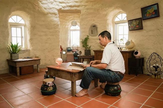 Ngôi nhà ấm áp vào mùa đông, mát lạnh vào mùa hè không cần đến điều hòa của thầy giáo dạy Toán - Ảnh 11.