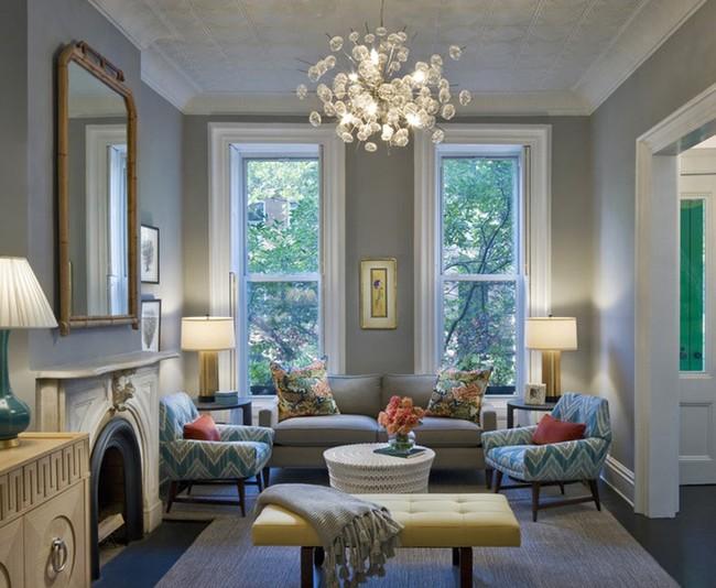Chiêm ngưỡng vẻ đẹp của những căn phòng khách mang phong cách đầy ngẫu hứng - Ảnh 12.