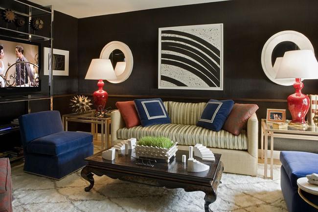 Chiêm ngưỡng vẻ đẹp của những căn phòng khách mang phong cách đầy ngẫu hứng - Ảnh 14.