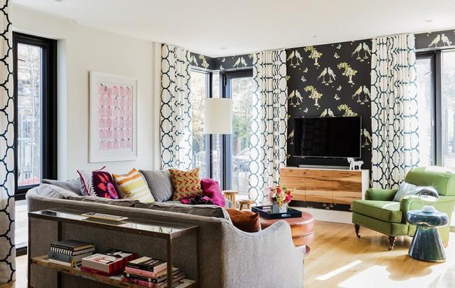 Chiêm ngưỡng vẻ đẹp của những căn phòng khách mang phong cách đầy ngẫu hứng - Ảnh 15.