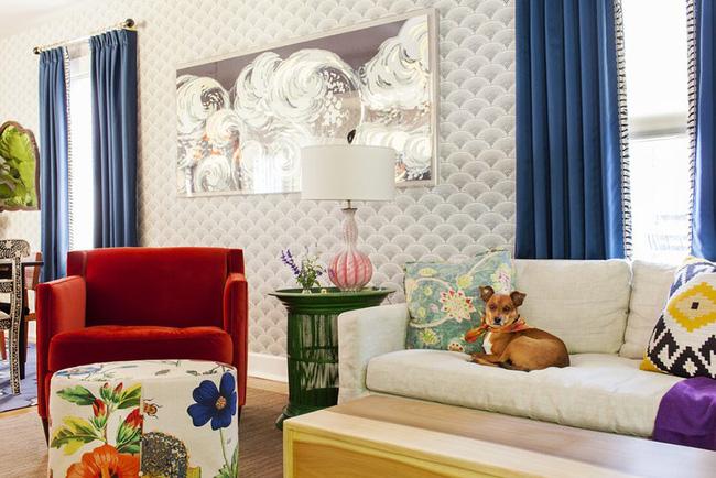 Chiêm ngưỡng vẻ đẹp của những căn phòng khách mang phong cách đầy ngẫu hứng - Ảnh 16.