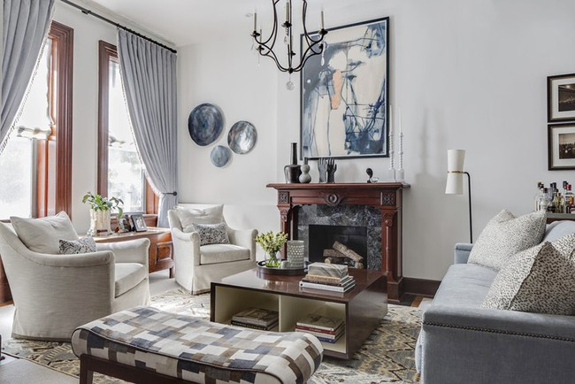 Chiêm ngưỡng vẻ đẹp của những căn phòng khách mang phong cách đầy ngẫu hứng - Ảnh 17.
