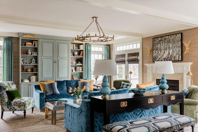 Chiêm ngưỡng vẻ đẹp của những căn phòng khách mang phong cách đầy ngẫu hứng - Ảnh 18.