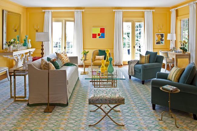Chiêm ngưỡng vẻ đẹp của những căn phòng khách mang phong cách đầy ngẫu hứng - Ảnh 20.