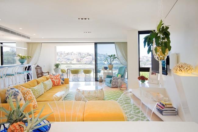 Chiêm ngưỡng vẻ đẹp của những căn phòng khách mang phong cách đầy ngẫu hứng - Ảnh 3.