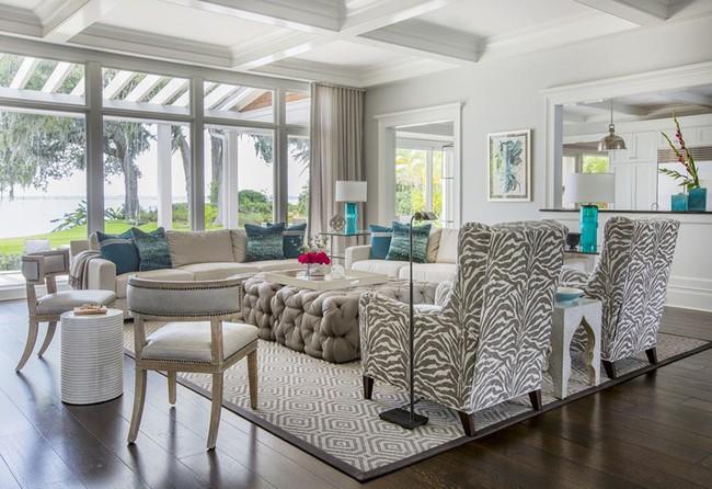 Chiêm ngưỡng vẻ đẹp của những căn phòng khách mang phong cách đầy ngẫu hứng - Ảnh 5.