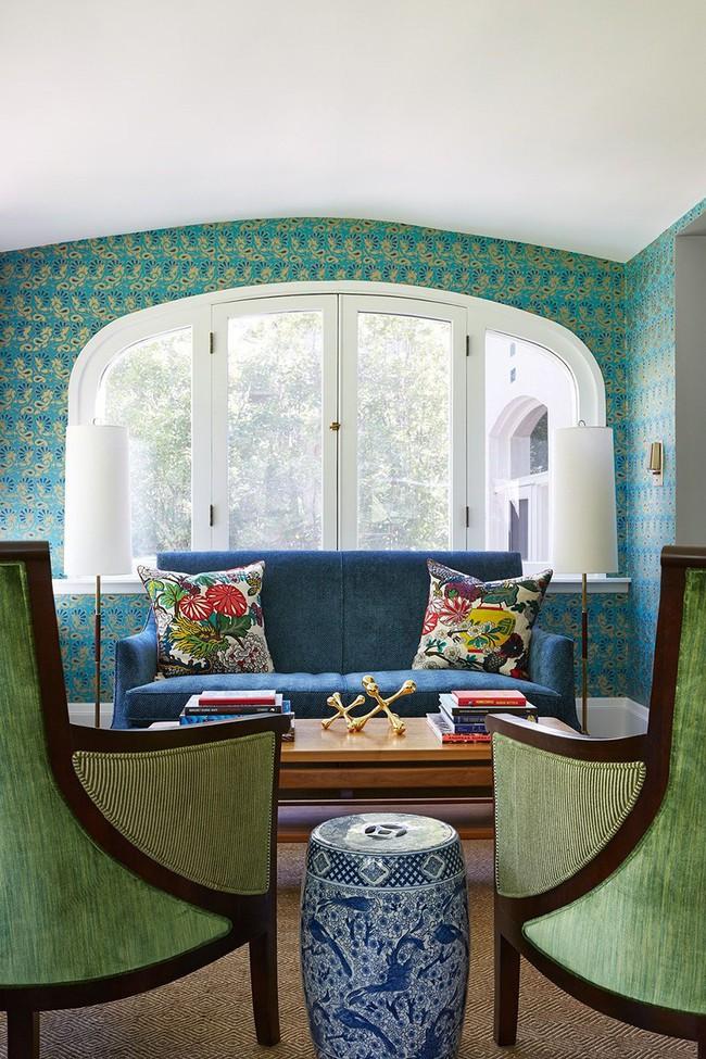 Chiêm ngưỡng vẻ đẹp của những căn phòng khách mang phong cách đầy ngẫu hứng - Ảnh 7.