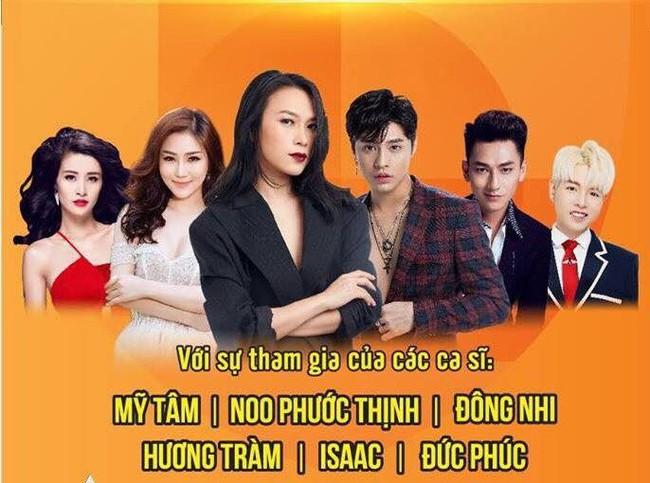 Sau ồn ào sai vị trí trên poster, Hương Tràm và Đông Nhi hội ngộ trên sân khấu cùng đàn chị Mỹ Tâm  - Ảnh 1.