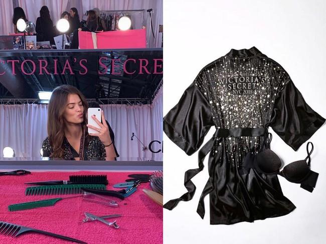 Hậu trường VS show 2018 khác biệt hoàn toàn mọi năm, áo choàng hồng của các chân dài thay bằng áo đen đầy bí ẩn - Ảnh 4.