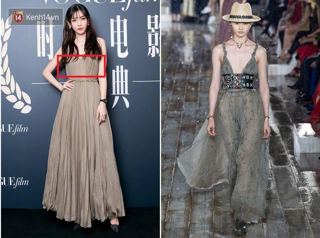 Dương Mịch - Angela Baby chung 1 khung hình: người ngực lép đã sửa váy vẫn lo nơm nớp; người ngực khủng lại mặc nguyên set kín đáo - Ảnh 5.