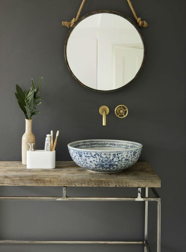 Thổi hồn nghệ thuật đương đại vào phòng tắm với thiết kế bồn rửa tay sứ chạm khắc hoa văn đẹp tuyệt - Ảnh 1.