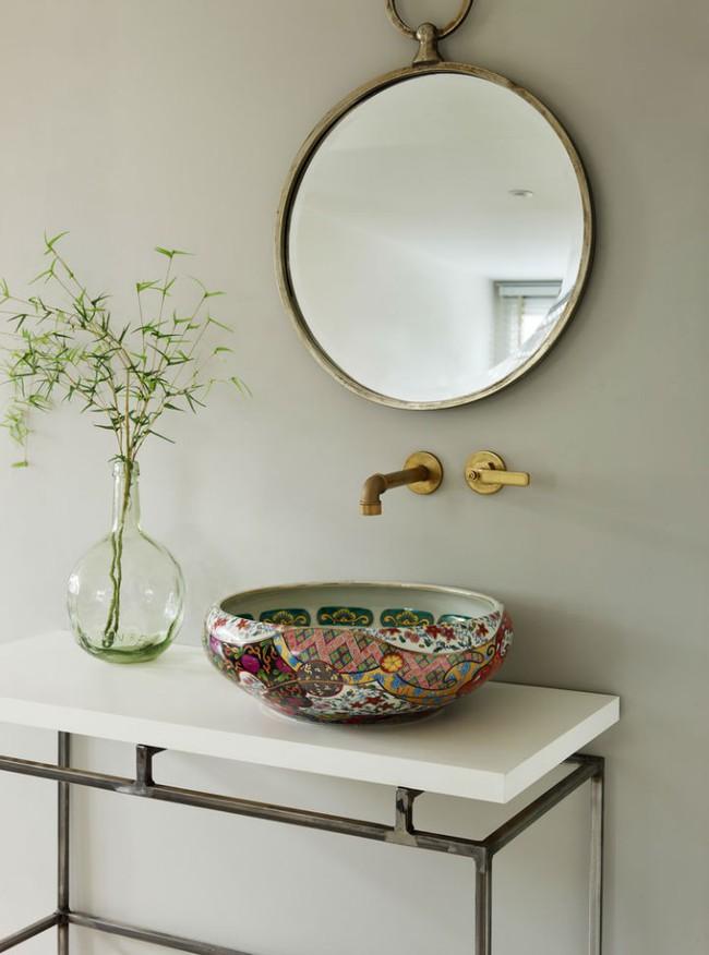Thổi hồn nghệ thuật đương đại vào phòng tắm với thiết kế bồn rửa tay sứ chạm khắc hoa văn đẹp tuyệt - Ảnh 3.