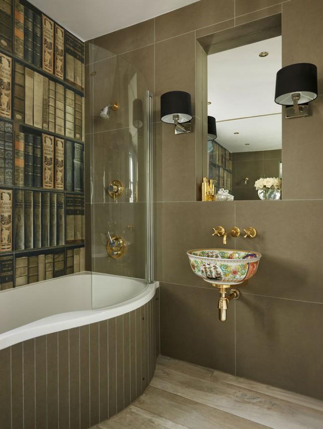 Thổi hồn nghệ thuật đương đại vào phòng tắm với thiết kế bồn rửa tay sứ chạm khắc hoa văn đẹp tuyệt - Ảnh 4.