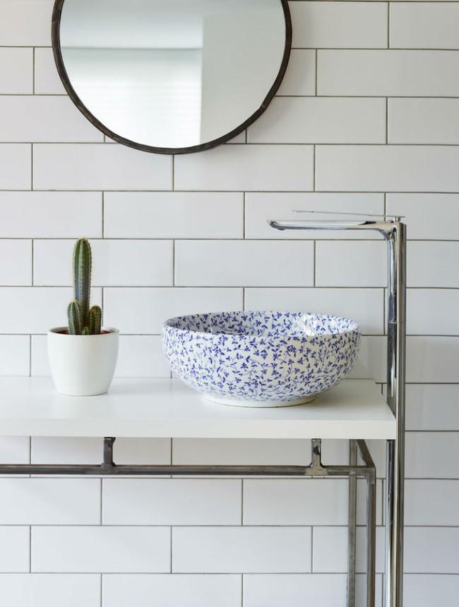 Thổi hồn nghệ thuật đương đại vào phòng tắm với thiết kế bồn rửa tay sứ chạm khắc hoa văn đẹp tuyệt - Ảnh 7.
