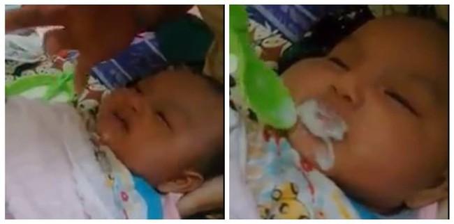 Cho con ăn thứ này khi mới 2 tháng tuổi, cha mẹ bị dân mạng ném đá dữ dội  - Ảnh 2.