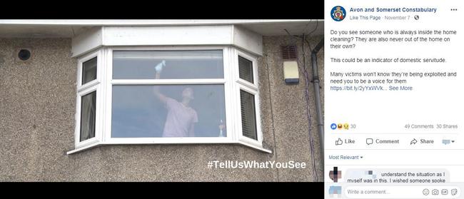 Bức ảnh người phụ nữ lau cửa sổ tưởng chừng rất bình thường nhưng được cảnh sát chia sẻ với lời cảnh báo nghiêm trọng - Ảnh 2.