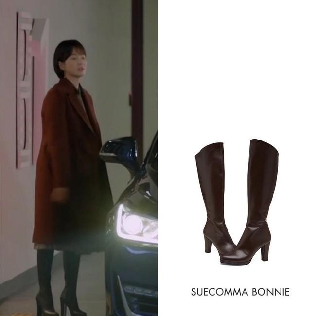 Song Hye Kyo liên tục cắt váy áo để hack dáng trong Encounter - Ảnh 11.