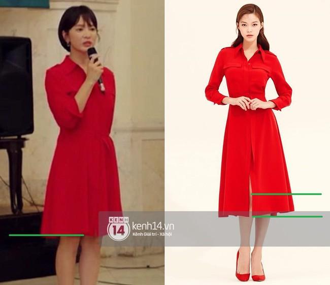Song Hye Kyo liên tục cắt váy áo để hack dáng trong Encounter - Ảnh 7.