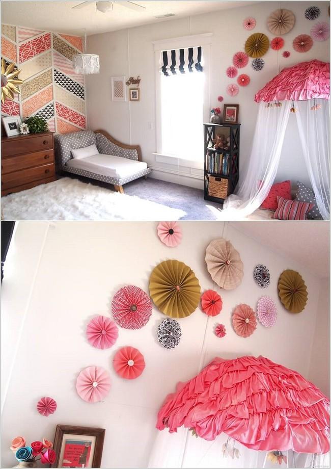 10 ý tưởng thủ công giúp trang trí tường phòng ngủ cho con bạn đẹp mê ly - xinh hết ý - Ảnh 10.