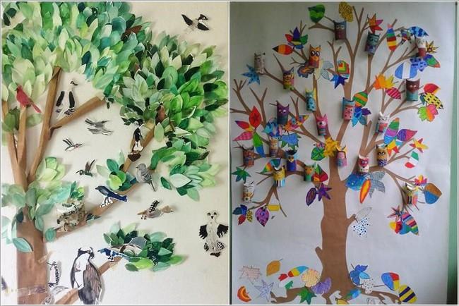 10 ý tưởng thủ công giúp trang trí tường phòng ngủ cho con bạn đẹp mê ly - xinh hết ý - Ảnh 8.