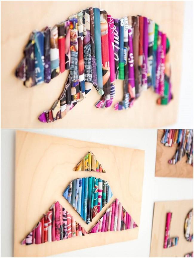 10 ý tưởng thủ công giúp trang trí tường phòng ngủ cho con bạn đẹp mê ly - xinh hết ý - Ảnh 9.