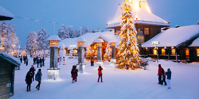 Ngắm những ngôi nhà đẹp như cổ tích lung linh trong mùa Giáng sinh - Ảnh 1.