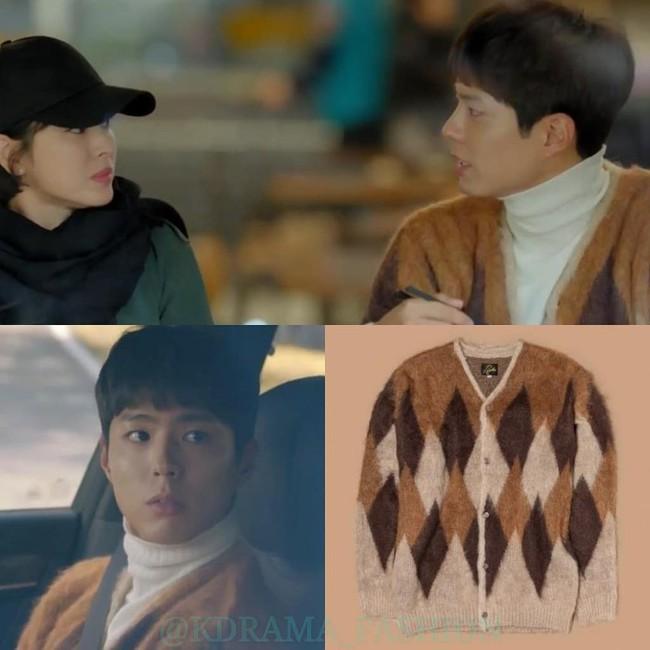 """Trong phim bị chê nghèo rớt, không xứng với """"chị tài phiệt"""" Song Hye Kyo nhưng Park Bo Gum toàn mặc đồ hiệu hết đấy - Ảnh 5."""