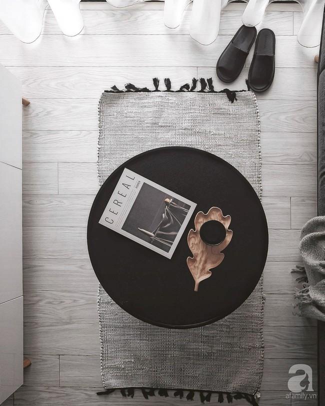 Căn hộ 74m² ở Hà Nội đẹp ấn tượng với gam màu trắng - đen của chàng trai là nhiếp ảnh gia ẩm thực - Ảnh 7.