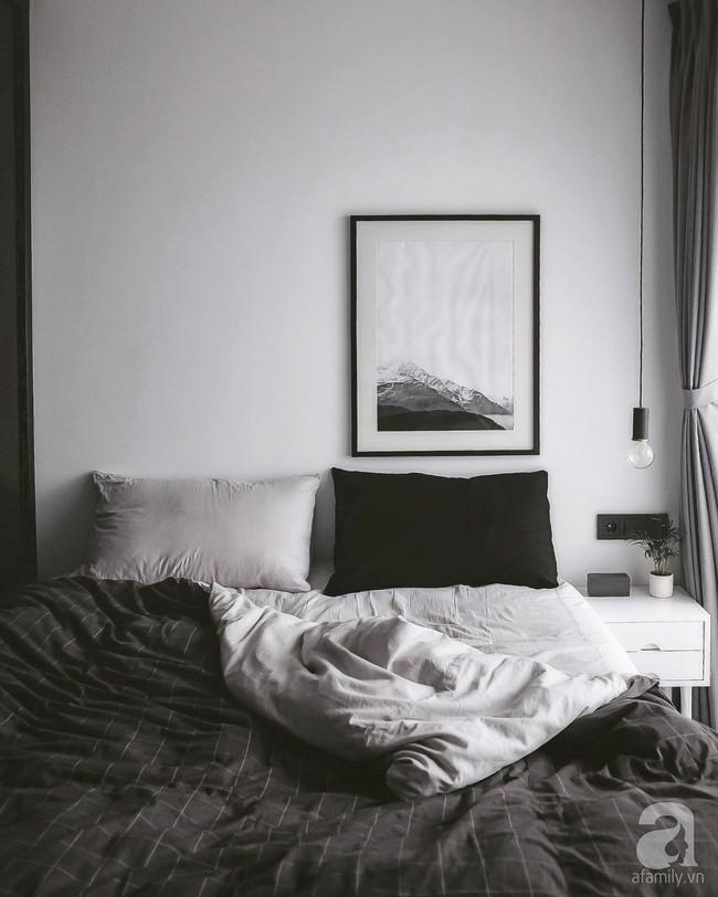 Căn hộ 74m² ở Hà Nội đẹp ấn tượng với gam màu trắng - đen của chàng trai là nhiếp ảnh gia ẩm thực - Ảnh 15.