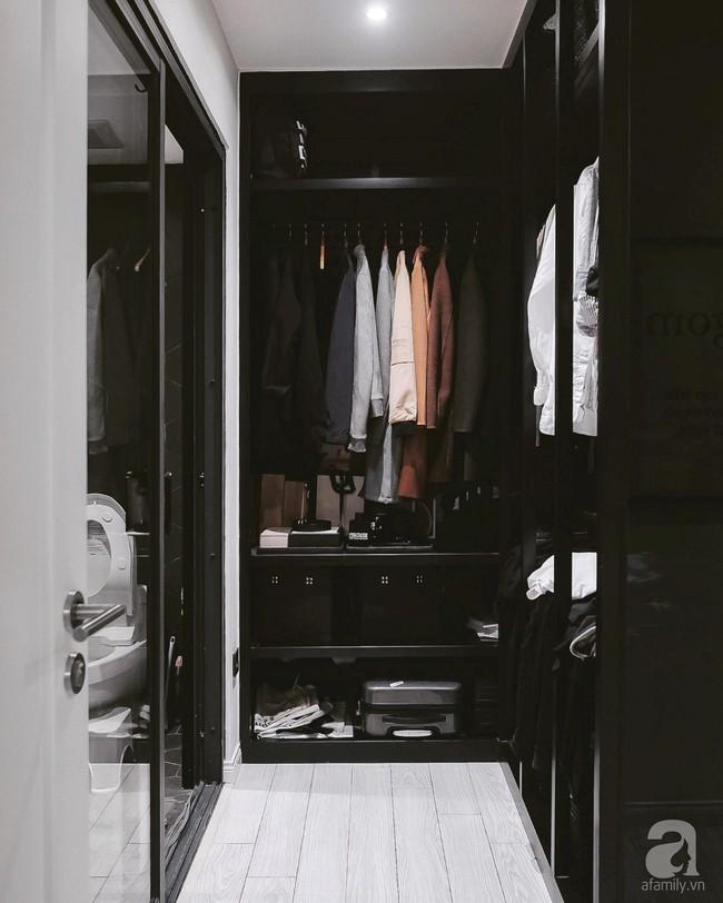 Căn hộ 74m² ở Hà Nội đẹp ấn tượng với gam màu trắng - đen của chàng trai là nhiếp ảnh gia ẩm thực - Ảnh 16.