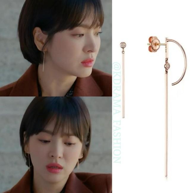 """Sở hữu BST khuyên tai tinh tế hết mực, chẳng trách Song Hye Kyo lúc nào cũng trang nhã và đẹp """"siêu thực"""" trong Encounter - Ảnh 3."""