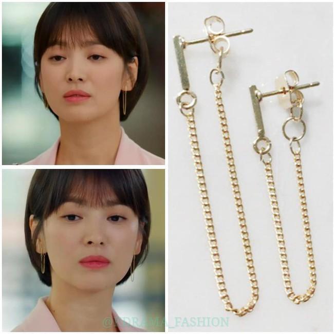 """Sở hữu BST khuyên tai tinh tế hết mực, chẳng trách Song Hye Kyo lúc nào cũng trang nhã và đẹp """"siêu thực"""" trong Encounter - Ảnh 10."""