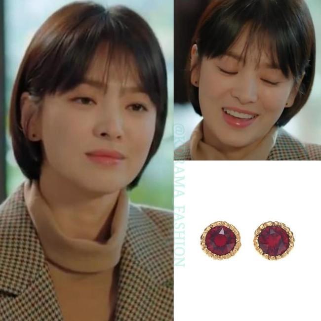 """Sở hữu BST khuyên tai tinh tế hết mực, chẳng trách Song Hye Kyo lúc nào cũng trang nhã và đẹp """"siêu thực"""" trong Encounter - Ảnh 7."""