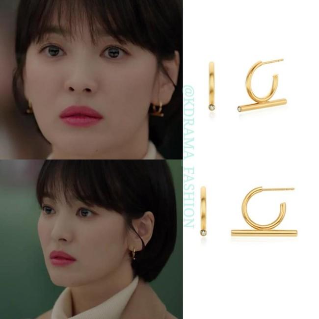 """Sở hữu BST khuyên tai tinh tế hết mực, chẳng trách Song Hye Kyo lúc nào cũng trang nhã và đẹp """"siêu thực"""" trong Encounter - Ảnh 8."""