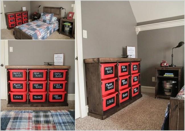 Lấy cảm hứng từ chất liệu gỗ, bạn có thể làm được vô số vật dụng hữu ích cho phòng ngủ của con mình - Ảnh 7.