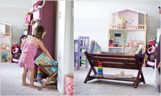 Lấy cảm hứng từ chất liệu gỗ, bạn có thể làm được vô số vật dụng hữu ích cho phòng ngủ của con mình - Ảnh 9.