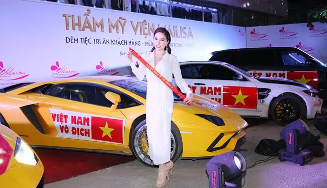 Bật mí sốc có 1-0-2 của dàn Hoa hậu Á hậu: Ngọc Hân, Huyền My… cổ vũ tuyển VN AFF Cup! - Ảnh 7.