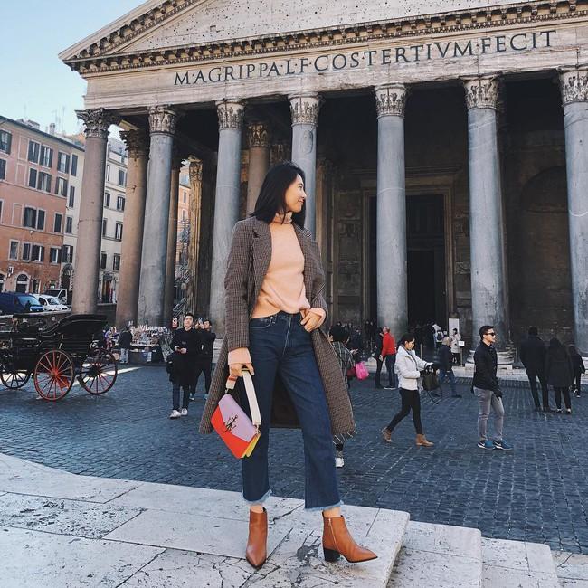 Ngắm 12 set đồ sau, các nàng sẽ nhận ra quần jeans + boots chính là cặp đôi giúp vẻ ngoài đạt 100% sành điệu - Ảnh 3.