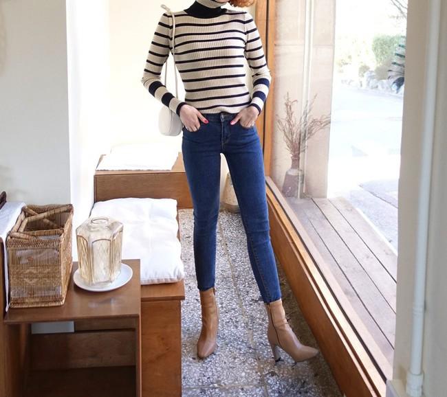 Ngắm 12 set đồ sau, các nàng sẽ nhận ra quần jeans + boots chính là cặp đôi giúp vẻ ngoài đạt 100% sành điệu - Ảnh 12.