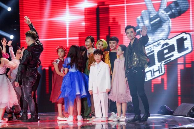 Bất ngờ với kết quả bình chọn top 7 thí sinh bước vào Bán kết The Voice Kids 2018 - Ảnh 11.