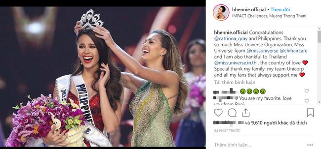 Chia sẻ đầu tiên của HHen Niê sau chung kết Miss Universe 2018, bất ngờ cô lại nói về người này - Ảnh 2.