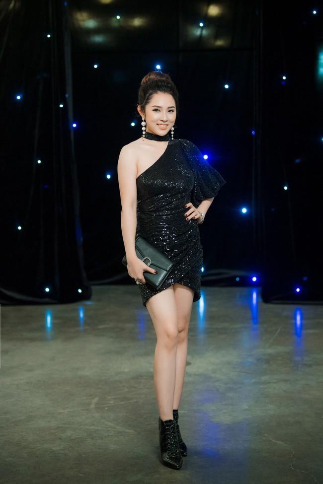 Maya diện váy lộ ngực khủng, khoe chiều cao vượt trội giữa dàn mỹ nhân toàn Hoa hậu - Ảnh 8.