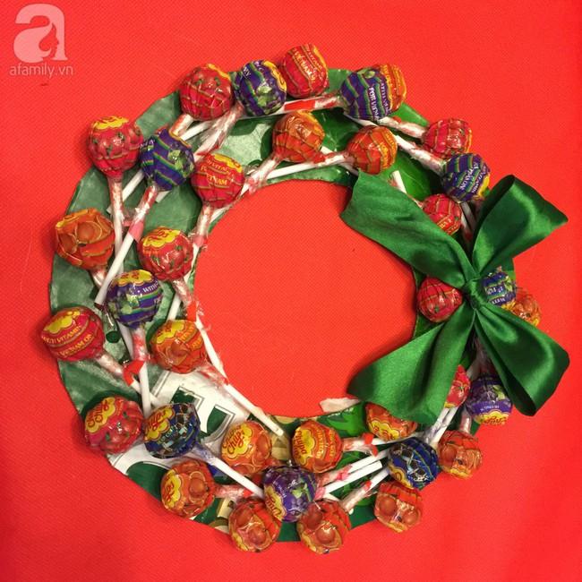 5 cách siêu cute làm vòng nguyệt quế từ đồ ăn cho mùa Noel thêm rực rỡ - Ảnh 4.
