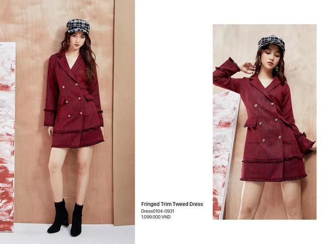 20 mẫu váy made in VietNam đẹp mê ly để các nàng thỏa sức shopping, làm điệu trước thềm Giáng sinh - Ảnh 8.