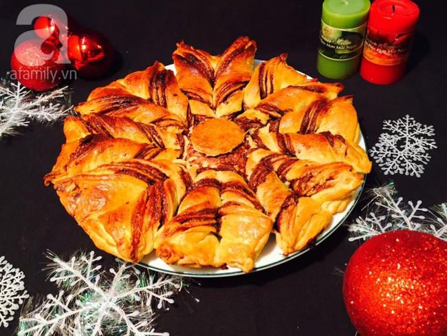 Giáng sinh này hãy làm ngay bánh mì hoa tuyết mềm ngon thơm phức các mẹ ơi! - Ảnh 9.